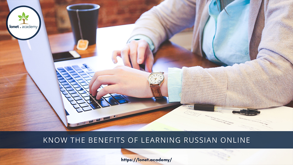 Online Russian classes on Lonet.Academy