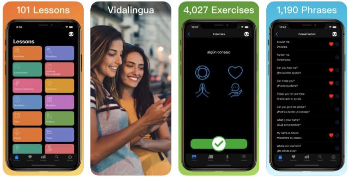 Lai ātri apgūt spāņu valodu, izmanto mūsdienīgas tehnoloģijas. Vidalingua App Learn Spanish sadarbībā at Lonet.Academy piedāvā privātstundas spāņu valodā un bezmaksas pieeju 101 ierakstītām lekcijām spāņu valodā.