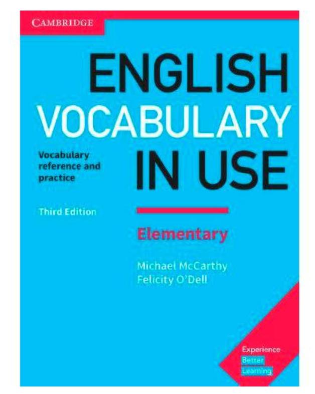 Серия учебников English Vocabulary In Use для тех, кто хочет улучшить свой словарный запас на английском. Хороший учебник английского для всех уровней. Lonet.Academy blog
