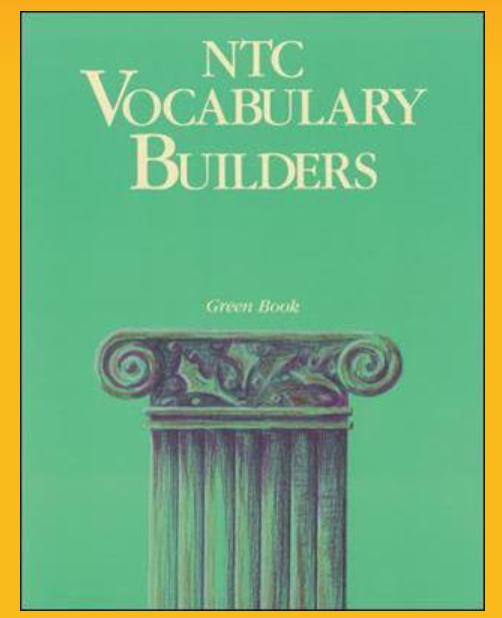Учебник английского NTC Vocabulary Builder. Green Book - английский для начинающих. Lonet.Academy