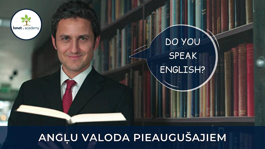 Angļu valoda pieaugušajiem.