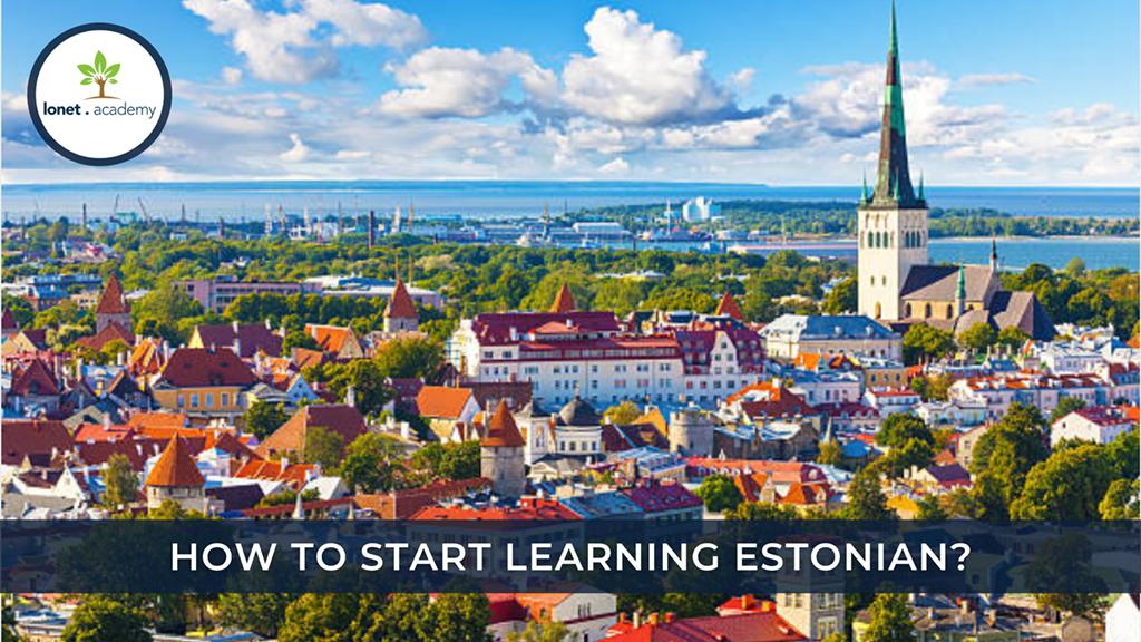 Learn Eesti. Start With Estonian Alphabet.